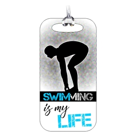 Swimming Bag Tag