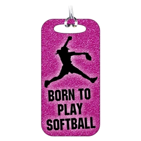 Softball Bag Tag