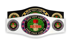Champion Belt | Award Belt for Kubb