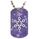 Winter Dog tag