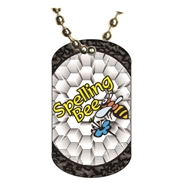 Spelling Bee Dog tag