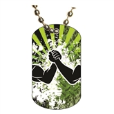 Arm Wrestling Dog tag