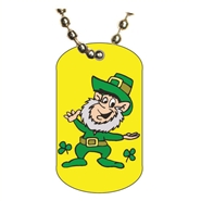 St. Patrick's Day Dog tag