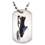 Snowmobile Dog tag