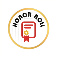 Honor Roll Pin