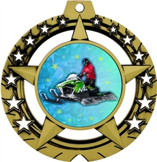 Snowmobile Medal