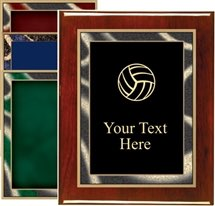 Piano Finish Volleyball Award Plaque