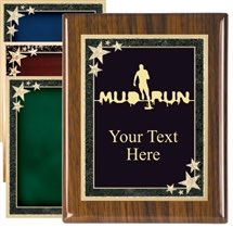 Piano Finish Mud Run Award Plaque