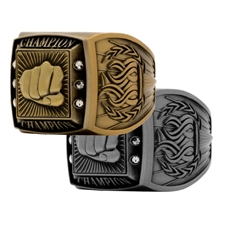 Champion Martial Arts Award Ring