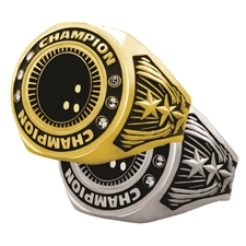 Champion Bowling Award Ring