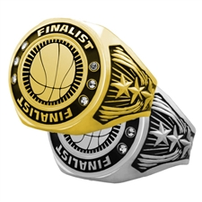 Finalist Basketball Award Ring
