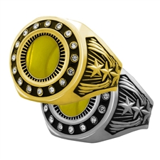 Tennis Award Ring