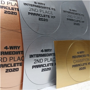 Engraved Medal backtags