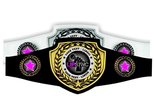 Champion Belt | Award Belt for Lip Sync