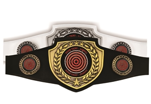 Champion Belt | Award Belt for Shooting