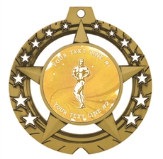 Male Body Building Medal
