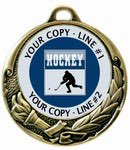 Hockey Medal 2-3/4""