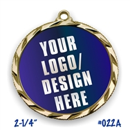 Custom Full Color Insert Medal | Custom Printed Medal