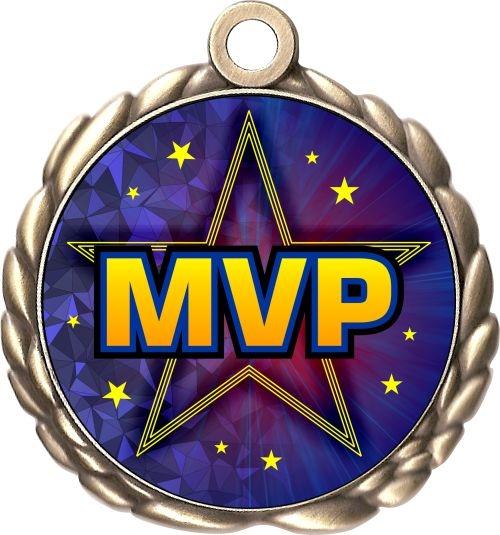 Custom MVP Medal   Engraved MVP Award   Just Award Medals