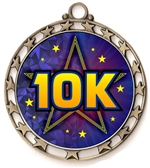 10K Run Award Medal