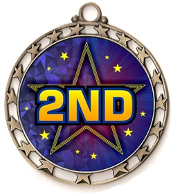 2nd Place Award Medal