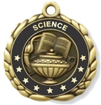 Science Medal 2-1/2""