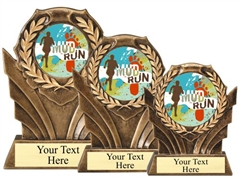 Mud Run Resin Trophy