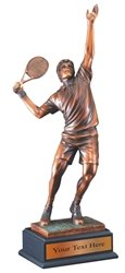 Tennis Resin Award Trophy