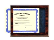 slide in certificate holder