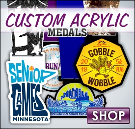 Custom Printed Acrylic Medals