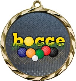 Bocce Ball Medal