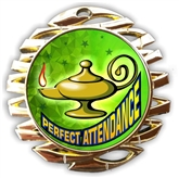 Perfect Attendance Medal