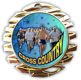 Cross Country Running Medal
