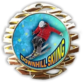 Downhill Skiing Medal