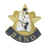 Band Lapel Pin with presentation box