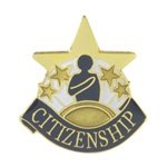Citizenship Lapel Pin with presentation box