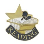 Reading Lapel Pin with presentation box