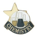 Chemistry Lapel Pin with presentation box