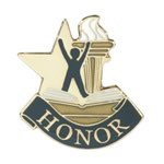 Honor Lapel Pin with presentation box