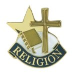 Religion Lapel Pin with presentation box