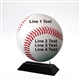 Acrylic Baseball Award | Full Color Baseball Acrylic
