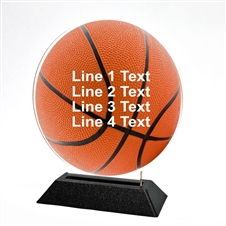 Acrylic Basketball Award | Full Color Baseball Acrylic