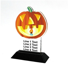 Acrylic Halloween Award | Full Color Halloween Acrylic