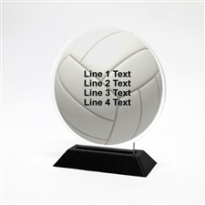 Acrylic Volleyball Award | Full Color Volleyball Acrylic