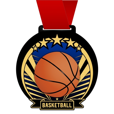 Basketball Medal | Basketball Award Medals
