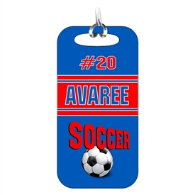 Soccer Team Bag Tag