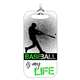 Baseball Bag Tag