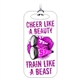 Cheerleading Bag Tag