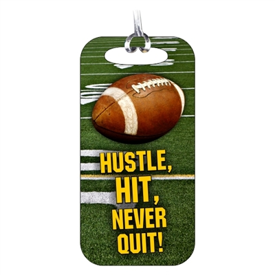 Football Bag Tag