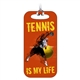 Tennis Bag Tag